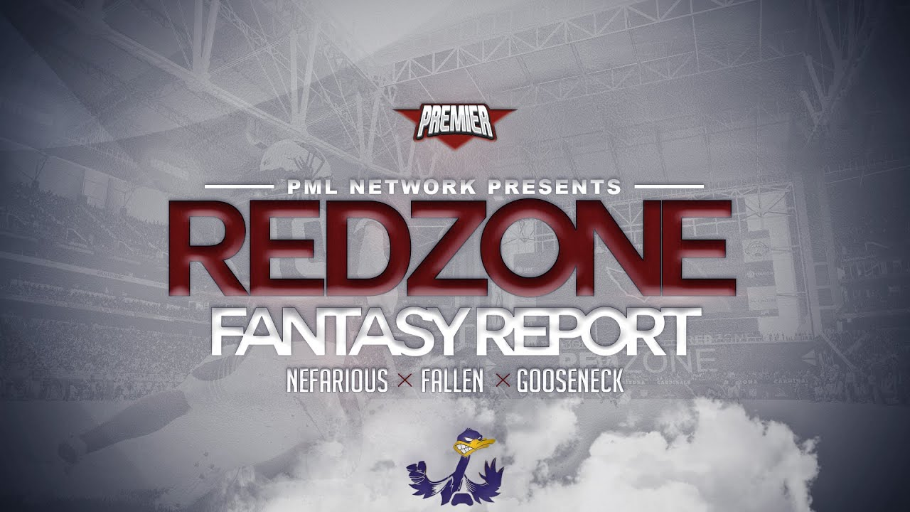PML - Red Zone Fantasy Report. Week 8 Preview Show