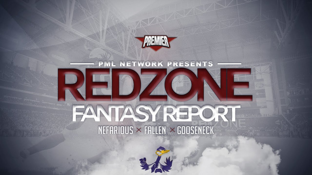 PML - Red Zone Fantasy Report. Week 9 Preview Show (feat Nefarious x Fallen x Goose). Madden 21