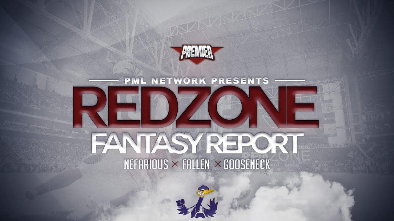 PML - Red Zone Fantasy Report. Season 2 Finale. Preview Show (feat Nefarious x Fallen x Goose).